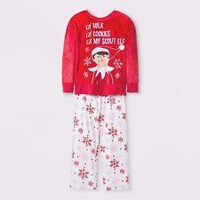 New Elf on the Shelf pajamas 2 piece set girls sizes XS S M L 2017  holiday set