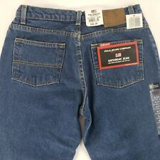 Polo Jeans Co Saturday Jean Tag 4 X 31 Actual 30 x 30.5 Blue Denim Med Wash New