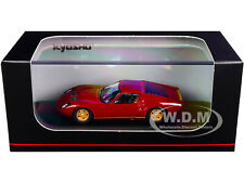 LAMBORGHINI MIURA P400 MAROON & GOLD 1/64 DIECAST MODEL CAR BY KYOSHO KS06930A4