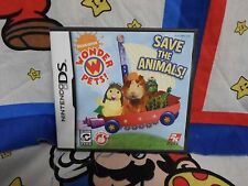 Nintendo DS The Wonder Pets Save the Animals Game COMPLETE