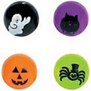 Pack of 12 - Halloween Bouncing Balls - Size 25mm - Great Party Loot Bag Fillers