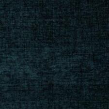 Plush Chenille Upholstery Fabric Navy Blue / Mood Indigo