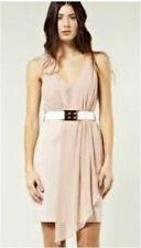 Warehouse Polyester V-Neck Mini Dresses for Women