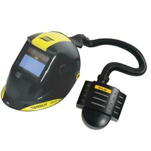 ESAB Warrior Tech Welding Helmet with Eco Air PAPR Unit