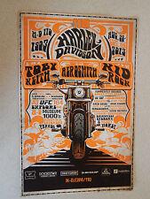 Harley-Davidson 110th Anniv Milwaukee Poster Kid Rock Aerosmith Toby Keith New