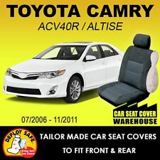 Car Seat Covers To Fit TOYOTA CAMRY Sedan Altise 2006 - 11/2011 Airbag Safe!