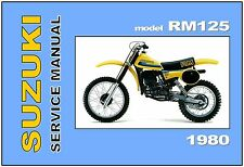 suzuki pe175 pe250 pe400 service repair workshop manual 1977 1981