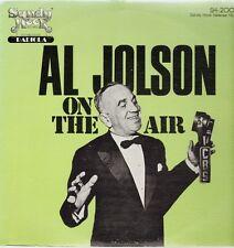Al Jolson On The Air, Sandy Hook Release No. 3, SH-2003, 1978 Sandy Hook Records