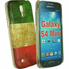 Cover For Samsung Galaxy S4 Mini i9195 Italy Flag + Film