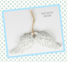 Fab Retro Shabby Chic Angel Wings Hanging Decoration Sass & Belle