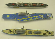 3 MATCHBOX SEA KINGS WAR SHIPS, K301/K305, K302/K306, & K-304 AIRCRAFT CARRIER