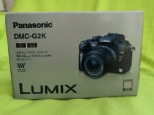 PANASONIC LUMIX DMC-G2K 12.1MP DIGITAL CAMERA - BLACK  Kit w/ ASPH 14-42 - BOXED
