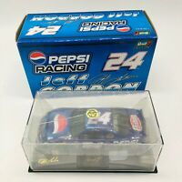2000 REVELL JEFF GORDON PEPSI 1/24 DIE CAST NASCAR CAR W/FACTORY CASE