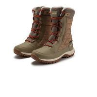 Hi-Tec Womens Riva Waterproof Walking Boots Burgundy Sports Outdoors Warm
