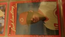 Jack Armstrong Cincinnati Reds Donruss 1990 Leaf Cards Ungraded