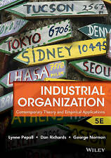 Industrial Organization: Theory and Applications, Fifth Edition by George Norman, Lynne Pepall, Dan Richards (Paperback, 2012)