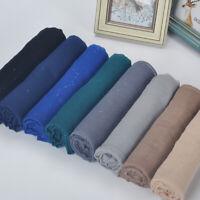 Muslim Wrap Scarf Hijab Plain Shawl  Gold Scarf Glitters Shimmer Sparkle