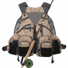 Kylebooker Fly Fishing Vest Multi-pckets Adjustable Mesh Fishing Jacket