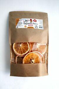 Fruit Chips Orange Dried Veg Food Strips Organic Vegan Eco Friendly