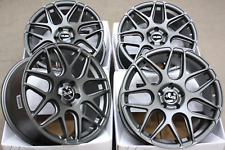 "18"" ALLOY WHEELS 5X112 18 INCH ALLOYS CRUIZE CR1 GM MATT GUNMETAL CONCAVE WHEELS"