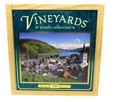 "Rhein Germany Vineyards Puzzle Collection 750 Piece Jig Saw Puzzle 18"" x 24"""