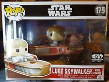 Star Wars Smugglers Bounty Luke Skywalker with Speeder Funko POP #175 UK Stock