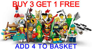 LEGO 71027 SERIES 20 MINIFIGURES (PICK YOUR MINIFIGURE) BUY 3 GET 1 FREE!!