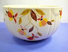 HALL`S SUPERIOR QUALITY KITCHENWARE MARY DUNBAR JEWEL AUTUMN LEAF SERVING BOWL
