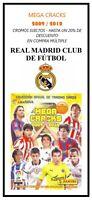 REAL MADRID - MEGA CRACKS 2009 / 2010 - CROMOS SUELTOS MEGACRACKS - (EX/NM)