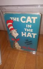 THE CAT IN THE HAT by Dr. Seuss 195/195  - 1st/3rd state jacket 1957 HCDJ Rare