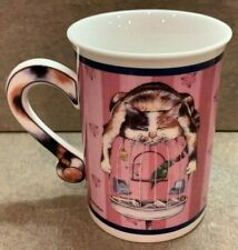 "Gary Patterson Comical Cats Collector Mug ""Time Out"" Danbury Mint - C3"