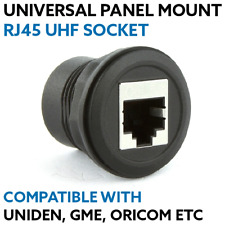Universal Rj45 Panel Mount Socket Outlet for UHF CB Radio Hand Suit Uniden GME O