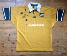 """Australia """"los canguros"""" Qantas-Vintage Rugby Unión Camisa Extra Grande/XL"""