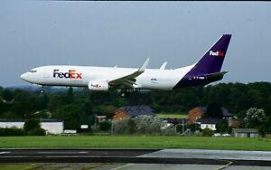 AIRCRAFT SLIDE / DIA B737-8F F-HIQD FEDEX ASL
