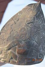 "Sale! Pre Columbian Mayan Crypt Stamp 5"" Prov"