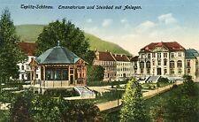 Czech Austria Teplice Teplitz - Emanatorium 1927 postcard