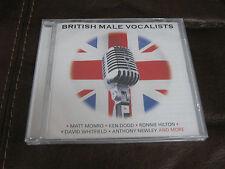 BRAND NEW SEALED CD ALBUM BRITISH MALE VOCALISTS MATT MONRO ANTHONY NEWLEY KEN D