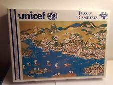 Unicef Japan 1000 Piece Puzzle 18 15/16''x26 1/4'' New Port of Matsumae Japan