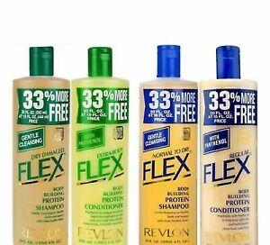 Revlon Flex Shampoo or Conditioner with Panthenol - 592ml / 20oz New Original.