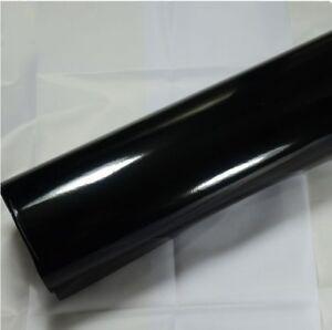 Gloss Black Vinyl Car Wrap (Bubble Free Application) Various Sizes