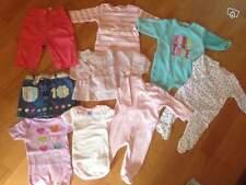 Lot bébé FILLE  3 mois PETIT BATEAU VERBAUDET OBAIBI - 9 ARTICLES