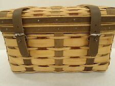 Longaberger CC Collectors Club AmerCraft Traditions Trunk Basket NEW Retired