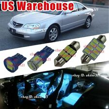 14-pc Aqua Ice Blue Interior Car LED Light Package Combo Kit For Acura CL 01-03