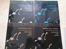 BEETHOVEN Symphony nº 3., 4., 5., 6. PAUL KLETZKI * 4 LPs suphraphon *