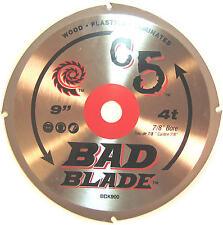 "BAD BLADE BBK900 C5 9"", KWIKTOOL USA, WOOD CUTTING, NEW"