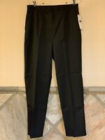 NWT LIZ BAKER Womens Petite 12P Black Dress Pants