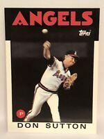 1986 Topps Tiffany Don Sutton baseball card California Angels NrMt-Mint  #335