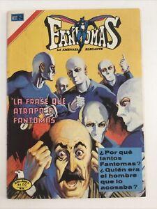 1977 SPANISH COMICS SERIE AGUILA FANTOMAS #307 LA AMENAZA ELEGANTE NOVARO MEXICO