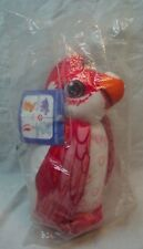 """Texaco INSIDE OUTBACK OLYMPIC ANIBALLS RED COCKATOO 11"""" Plush STUFFED Toy NEW"""