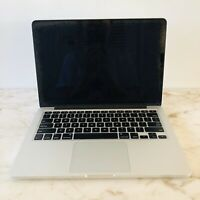 "APPLE Macbook Pro Retina 13.3"" A1502 2.4GHz Core I5 4GB RAM 128GB SSD Late 2013"